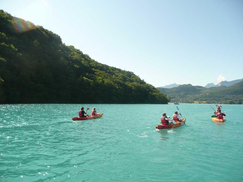 location canoe colombier
