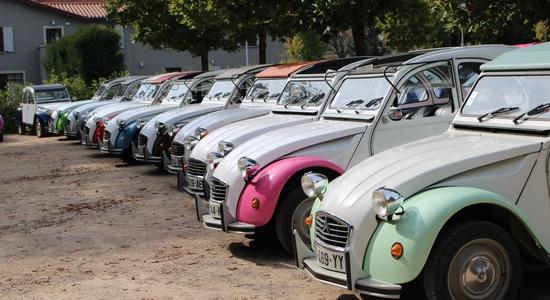 Incentive rallye 2cv beaujolais