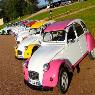 Rallye 2cv dans le Beaujolais