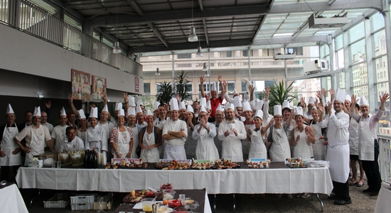 Teambuilding cours de cuisine beaujolais